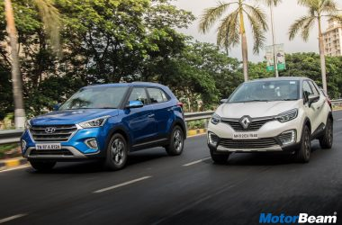 Hyundai Creta vs Renault Captur Shootout