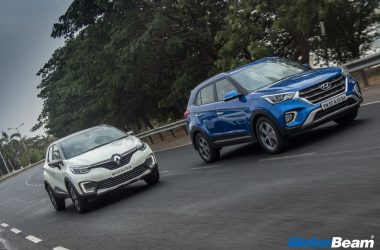Hyundai Creta vs Renault Captur Video