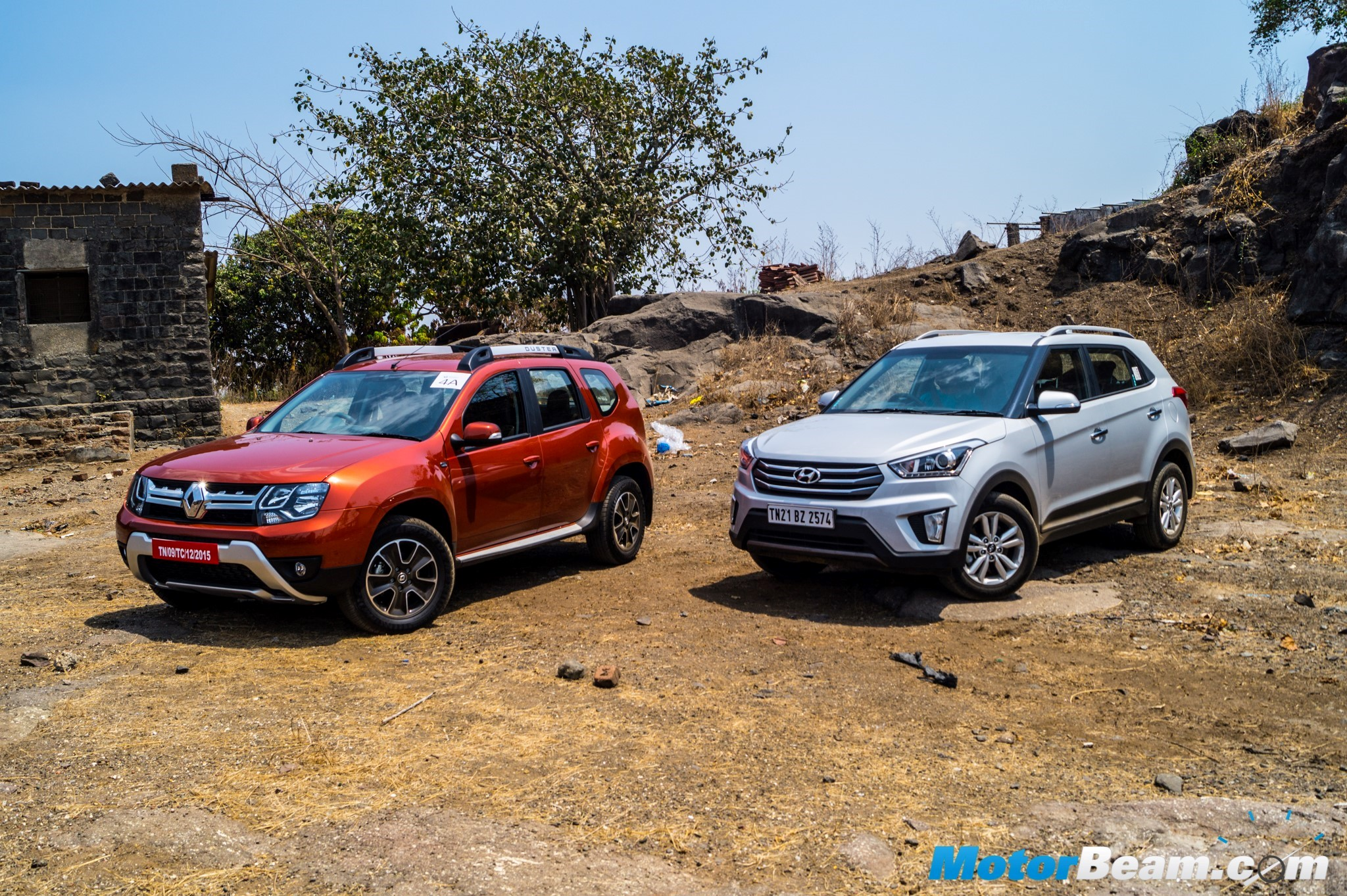 Hyundai Creta vs Renault Duster Shootout