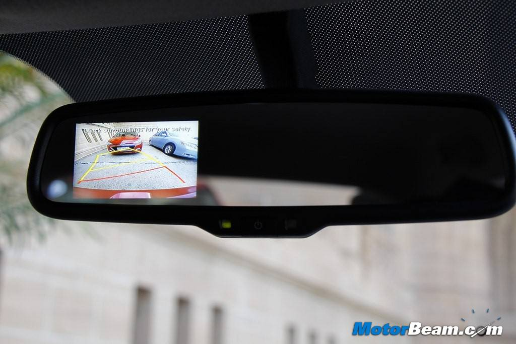 Hyundai Elite i20 Rear Camera