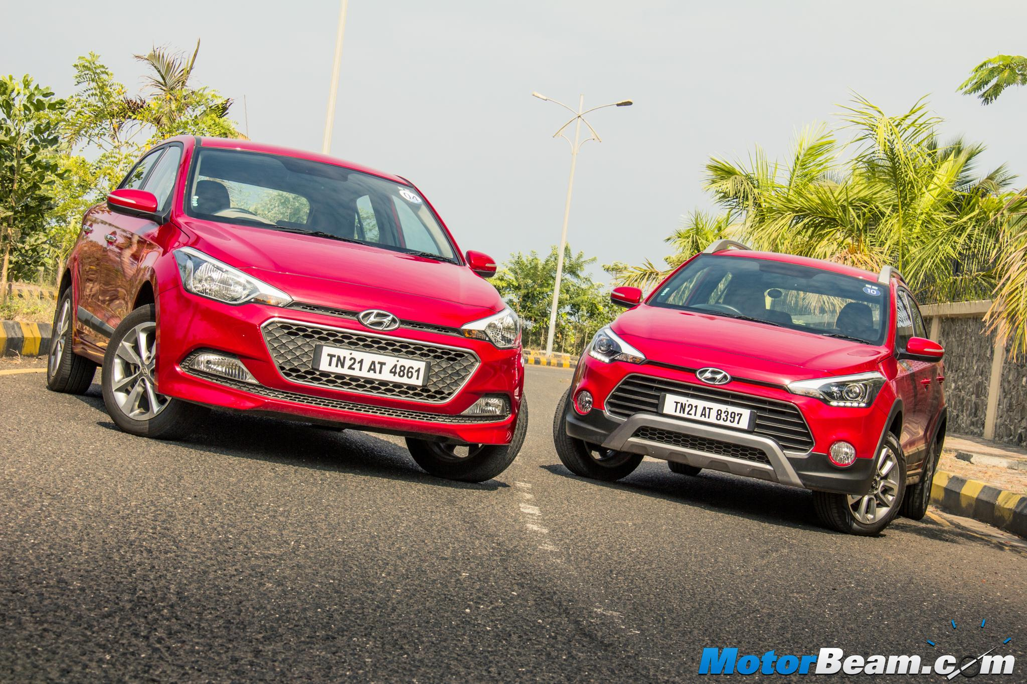 Hyundai Elite i20 vs Hyundai i20 Active