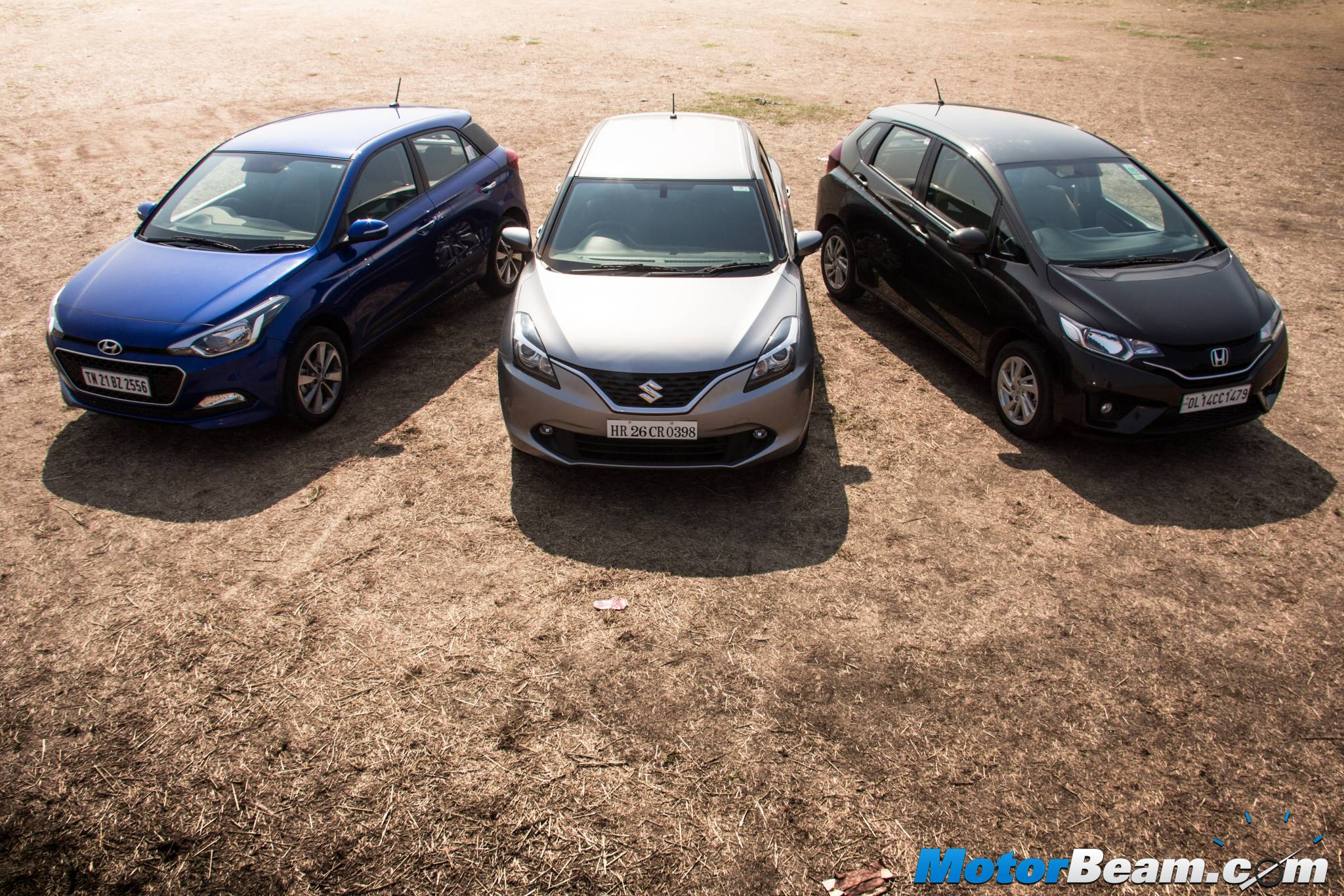 Hyundai Elite i20 vs Maruti Baleno vs Honda Jazz