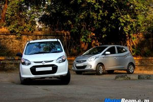 Hyundai Eon vs Alto 800 Road Test