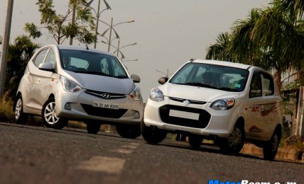 Hyundai Eon vs Alto 800 Shootout