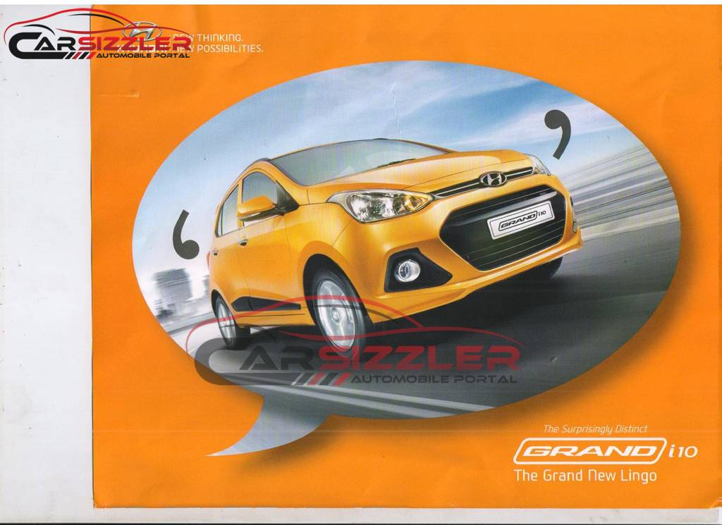 Hyundai Grand i10 Brochure
