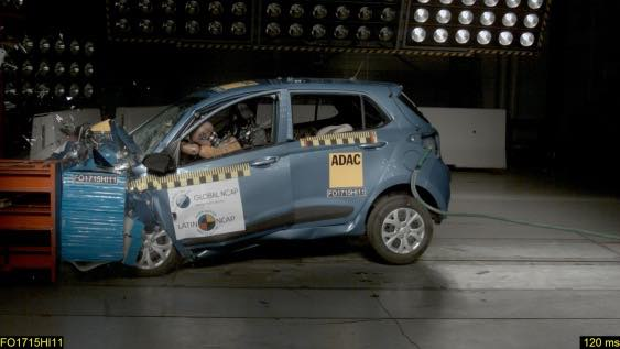 Hyundai Grand i10 Crash Test