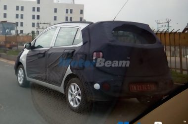 Hyundai Grand i10 Facelift & Tucson Spied Testing