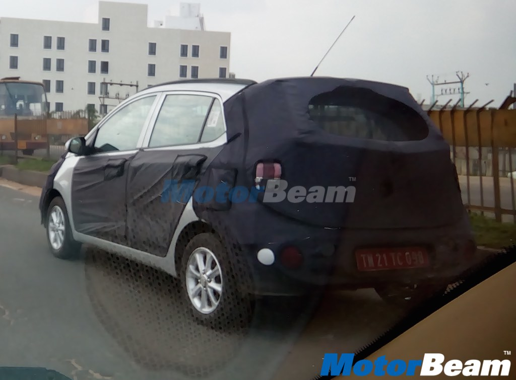 Hyundai Grand i10 Facelift Spied