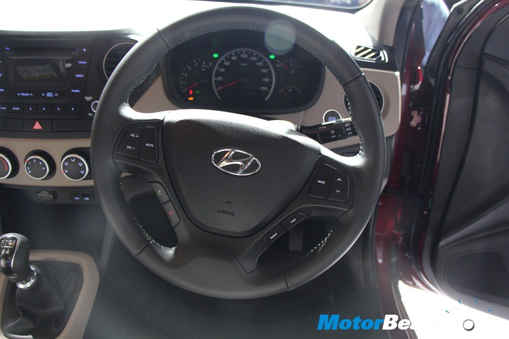 Hyundai Grand i10 Steering