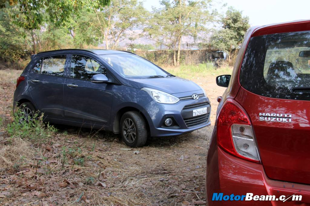 Hyundai Grand i10 vs Maruti Celerio