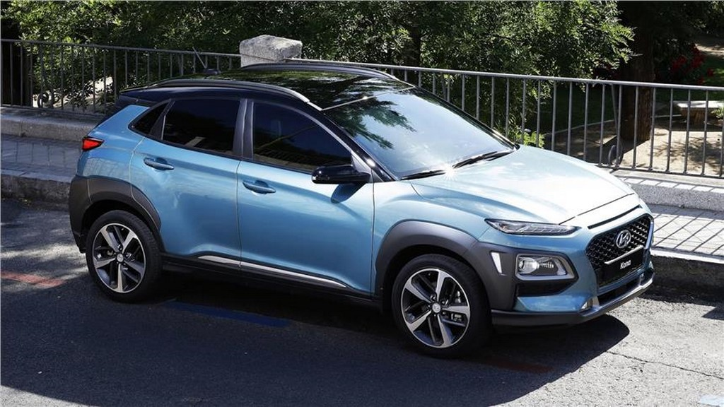 Hyundai Kona Front Three Quarter Angle
