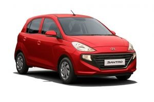 Hyundai Santro Fiery Red