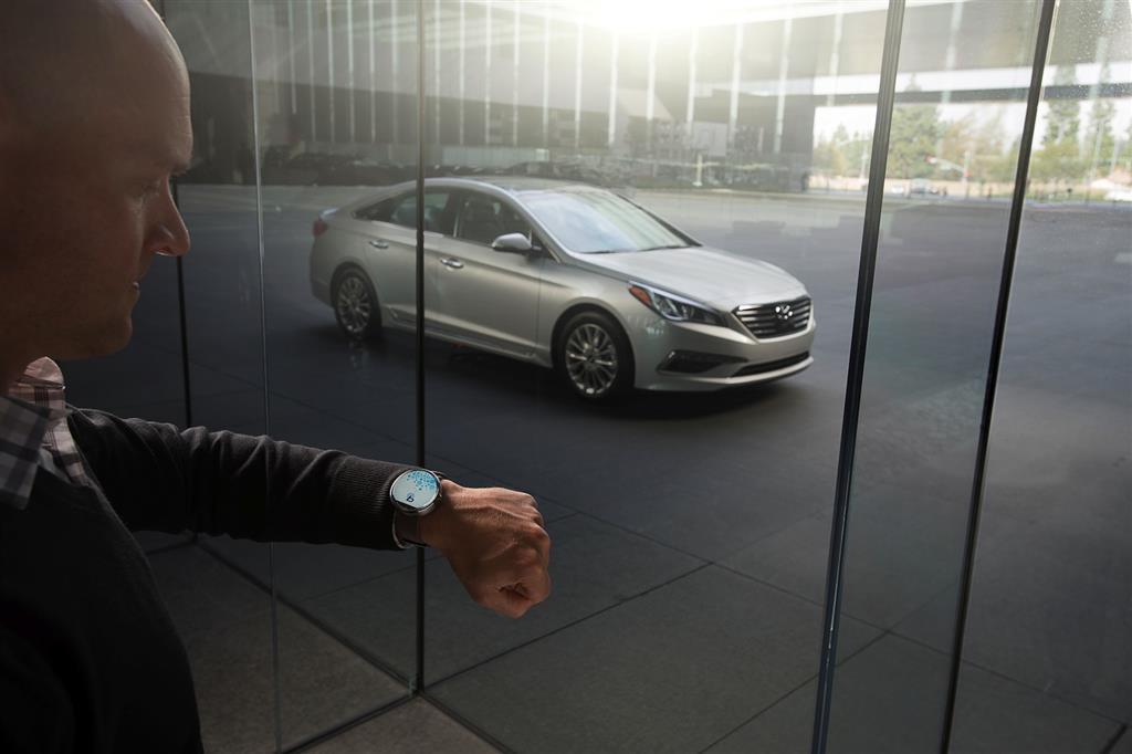 Hyundai Smart Watch App