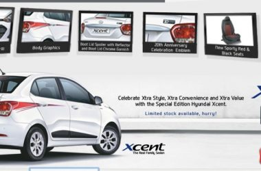 Hyundai Xcent Special Edition Launched, Priced At Rs. 6.22 Lakhs