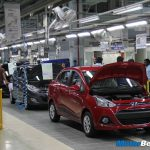 Hyundai Xcent Production