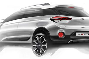 Hyundai i20 Active Rendering Official