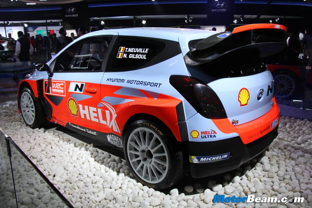 Hyundai i20 WRC Side