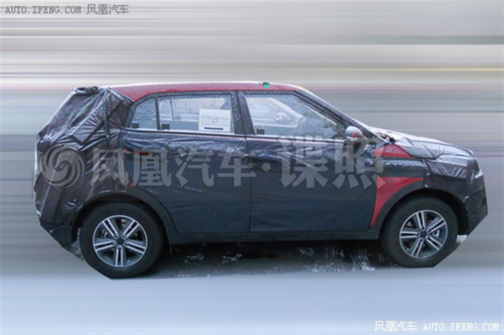 Hyundai ix25 Spy Side