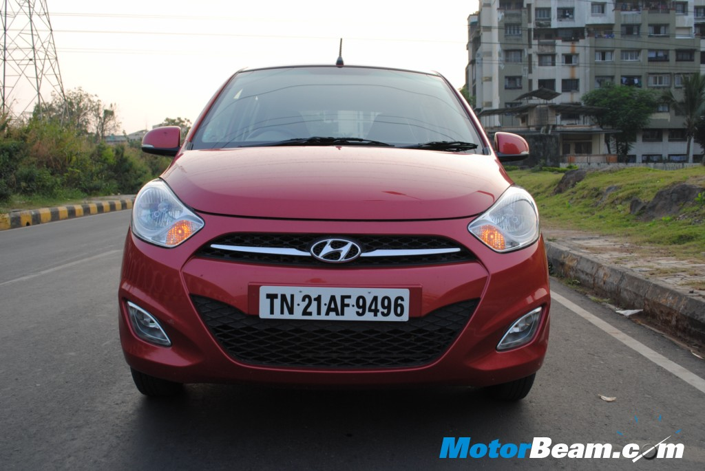 New front grille & revised headlamps