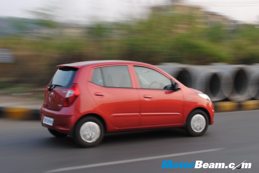 Hyundai i10 in motion