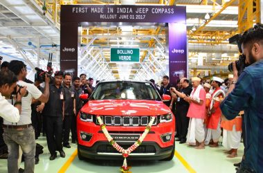 India Made Jeep Compass Rollout