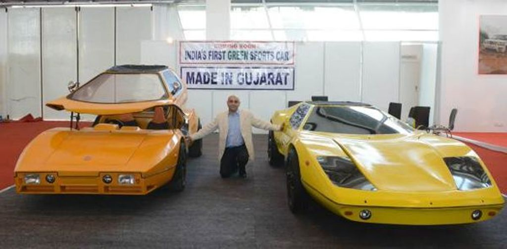 India Made Super Nova Electric Sportscar