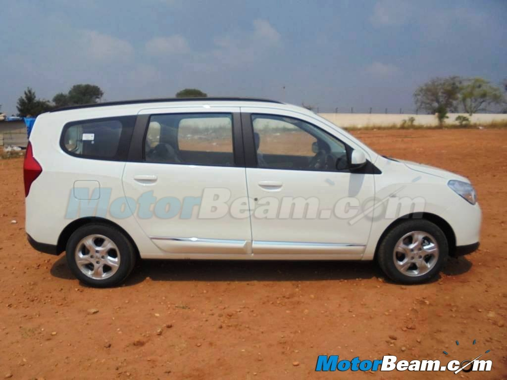 India Spec Renault Lodgy Side