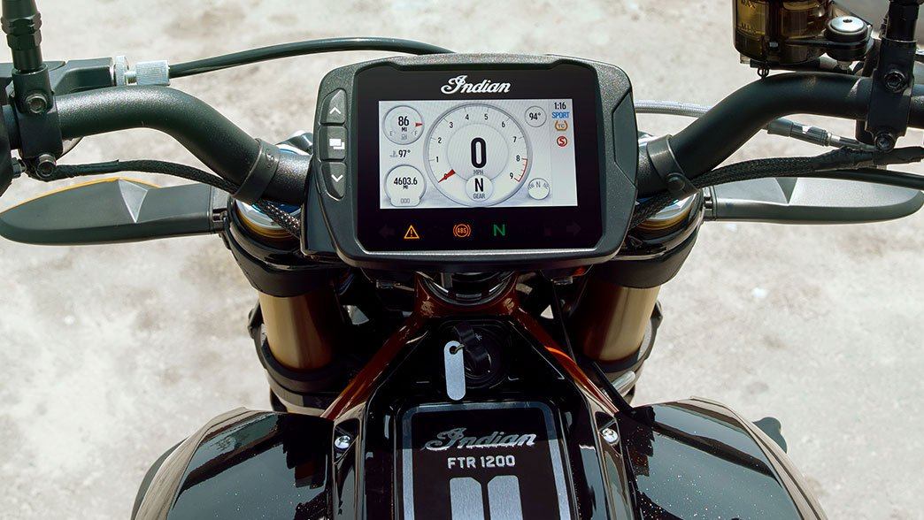 Indian FTR 1200 S Features