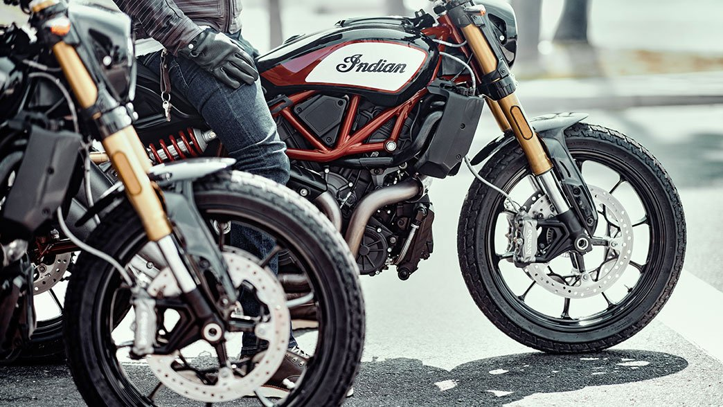 Indian FTR 1200 S and 1200 S Race Replica