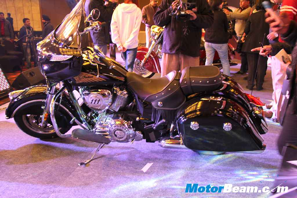 Indian Motorcycle Chieftain Side