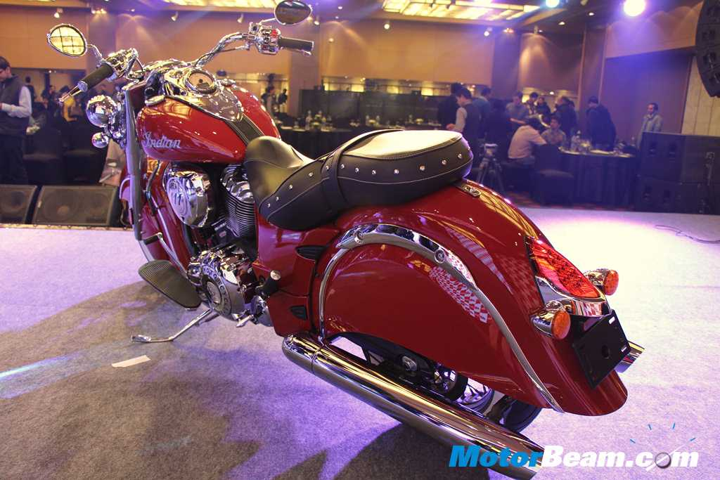 Indian Motorcycle Classic Rear