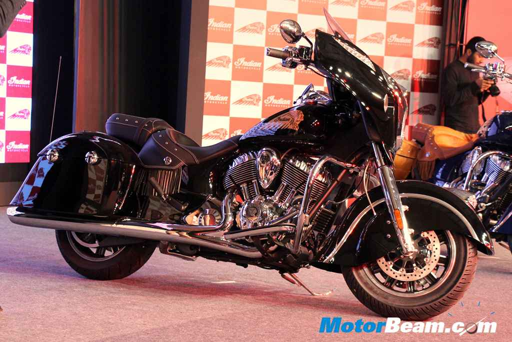 Indian Motorcycle Launch Chieftain