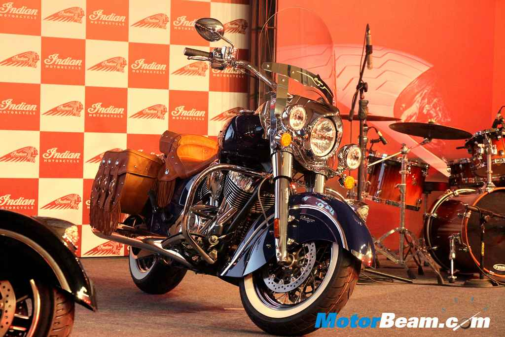 Indian Motorcycle Launch Vintage
