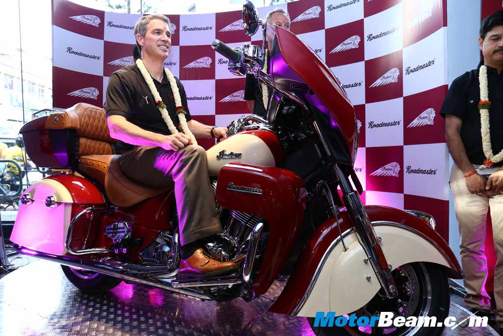 Indian Roadmaster Launch