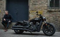 Indian Scout Bobber Side Profile