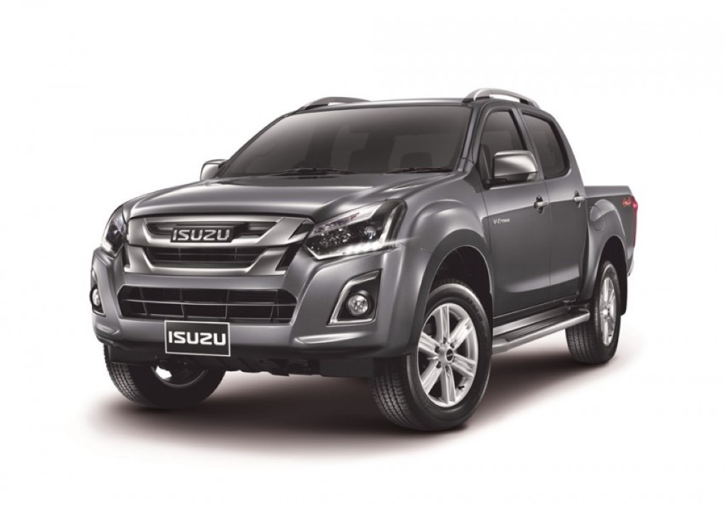 Isuzu D-Max Facelift Revealed