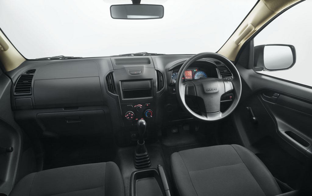 Isuzu D-Max Regular Cab Dash