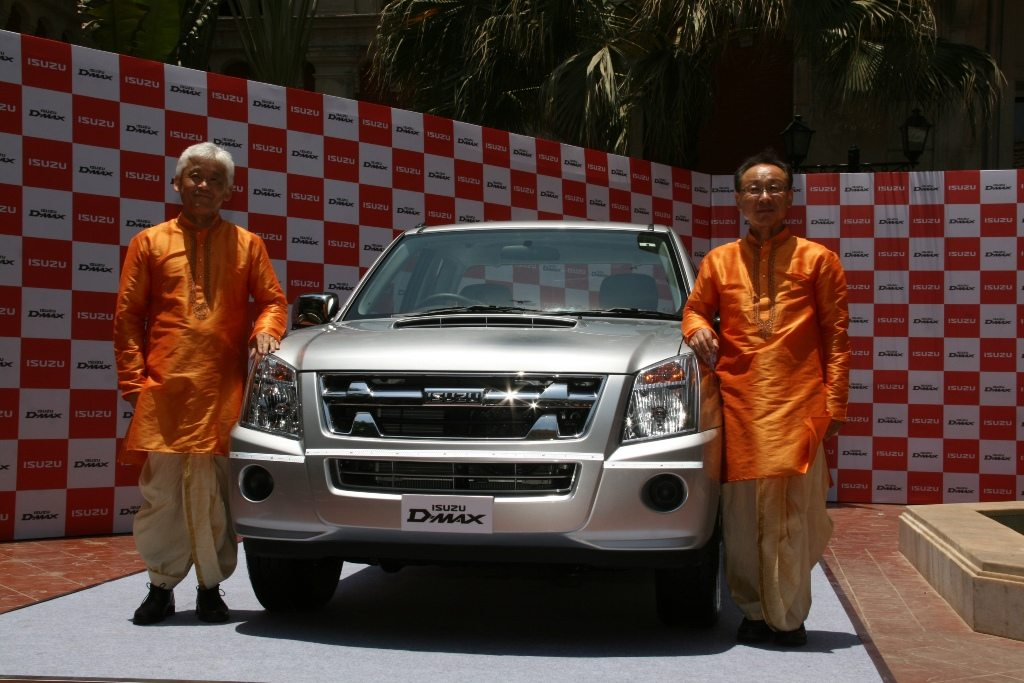 Isuzu D-Max Space Cab Launch