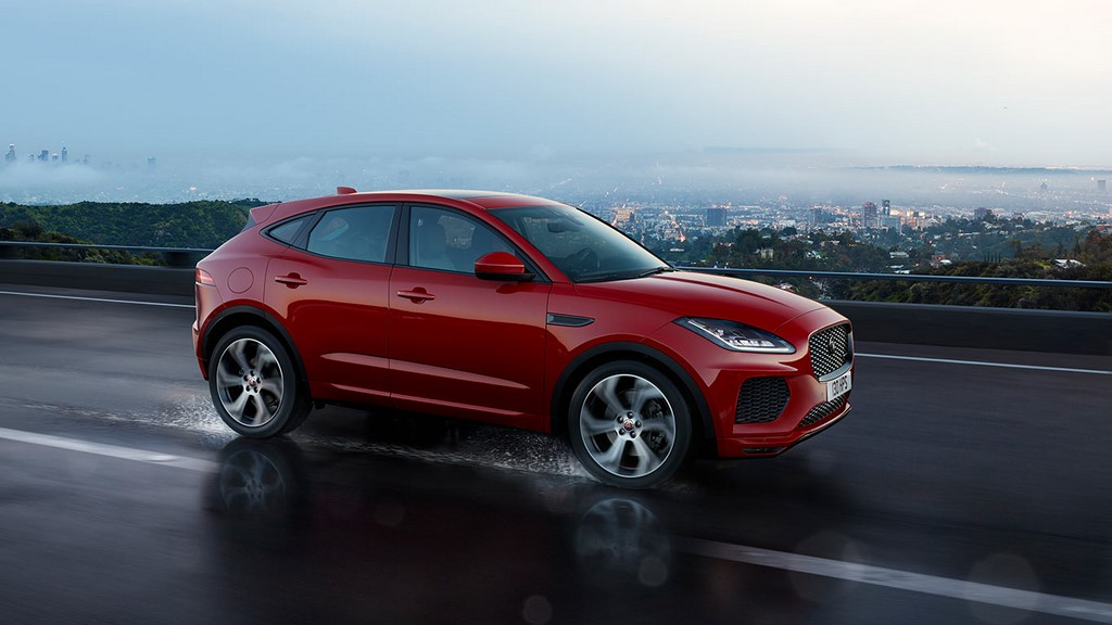 Jaguar E-Pace Side