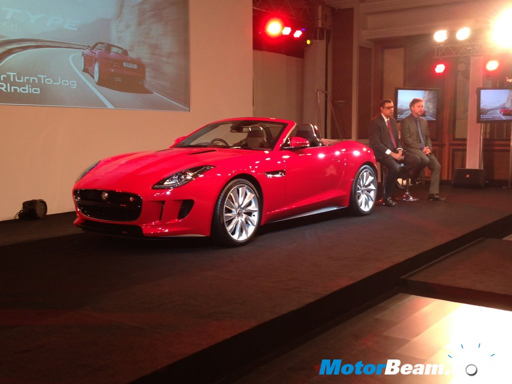Jaguar F Type India Launch