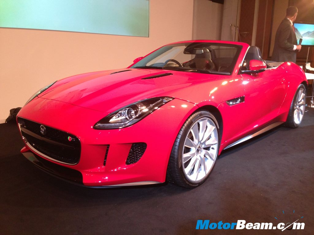 Jaguar F Type India
