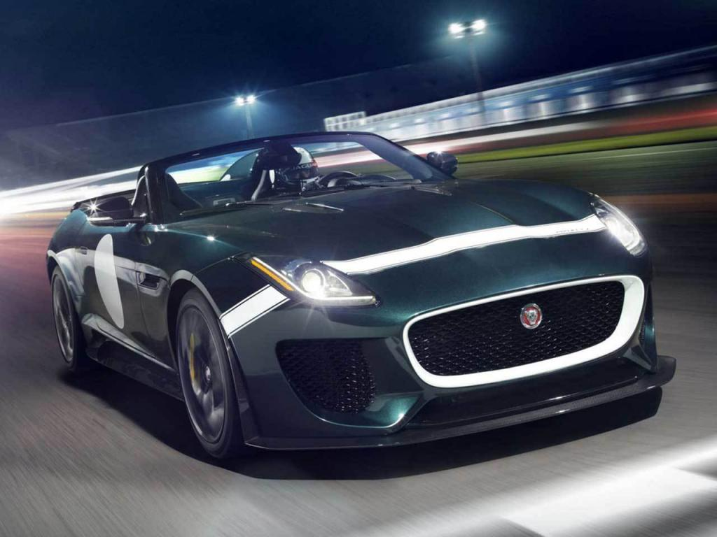 Jaguar F-Type Project 7 Dynamics