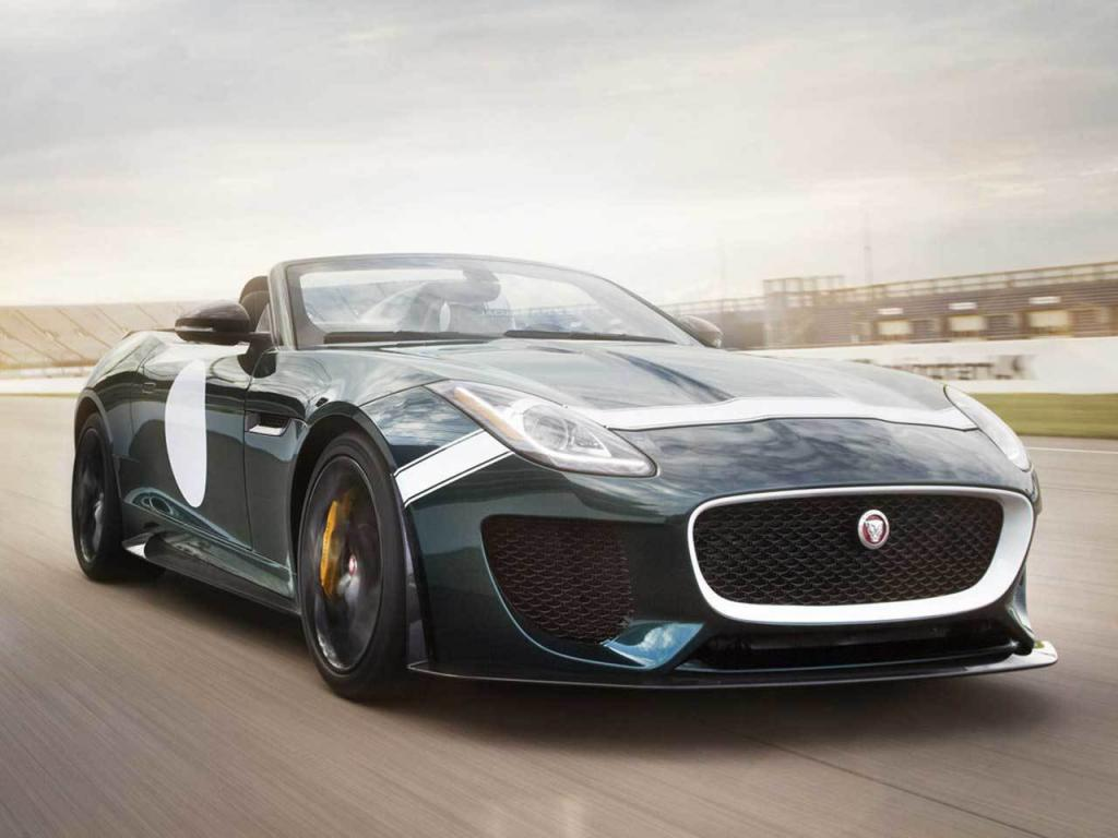 Jaguar F-Type Project 7 Front