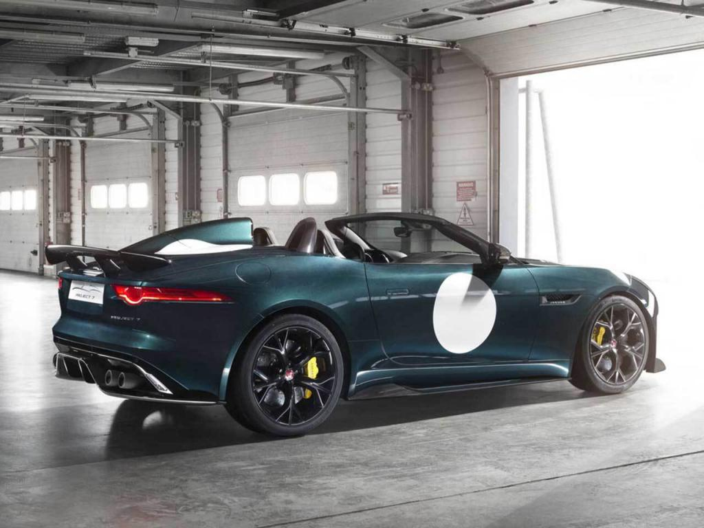 Jaguar F-Type Project 7 Production Version Side