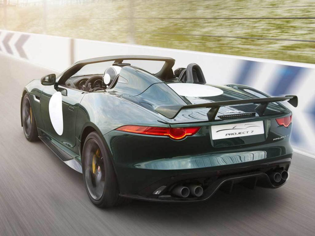 Jaguar F-Type Project 7 Production version Rear