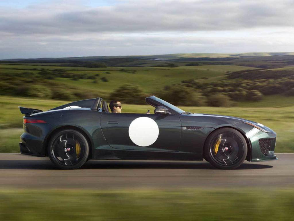 Jaguar F-Type Project 7 Side