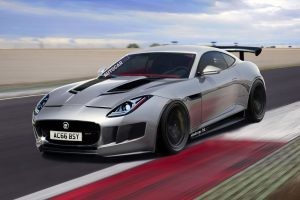 Jaguar F-Type Road Racer Rendering