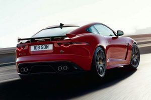 Jaguar F-Type SVR Rear