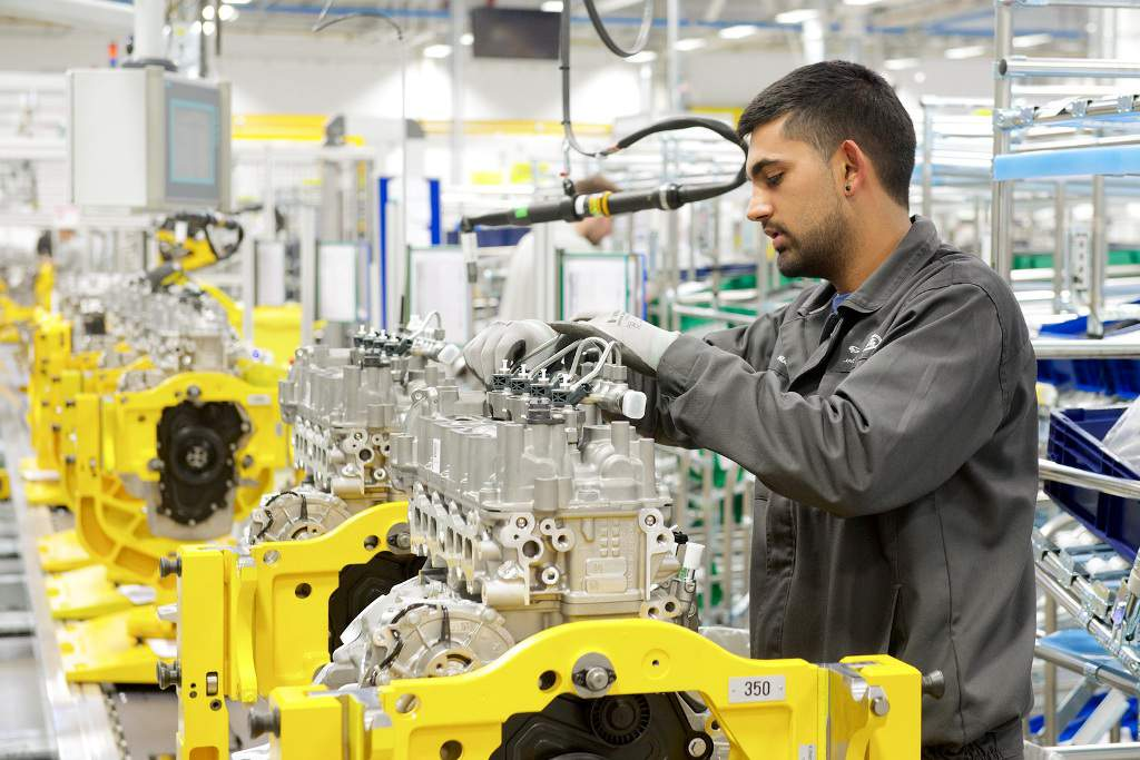 Jaguar Land Rover Engine Plant Inauguration