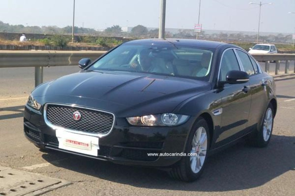Jaguar XE Spied India